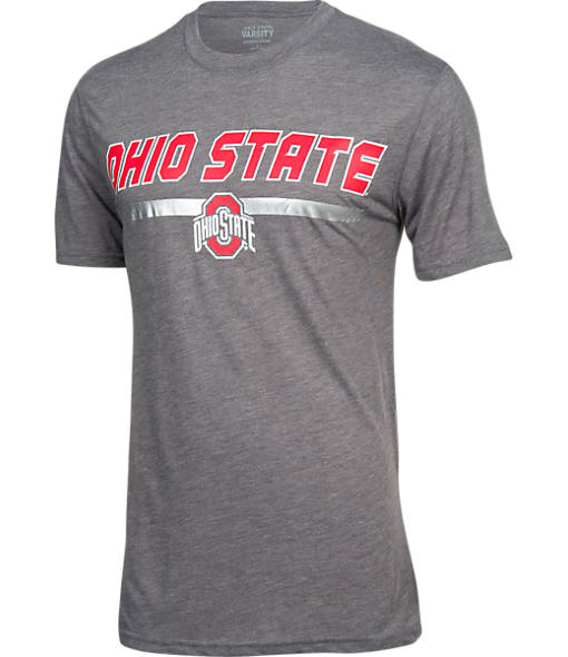 Men's J. America Ohio State Buckeyes College Dual Blend T-Shirt