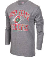 Men's J. America Ohio State Buckeyes College Twisted Slub T-Shirt