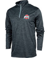 Men's J. America Ohio State College Supernova Quarter-Zip Jacket