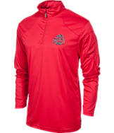 Men's J. America Ohio State Buckeyes College 1/4 Zip Shirt