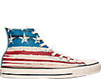 Men's Converse Chuck Taylor High Flag Print Casual Shoes