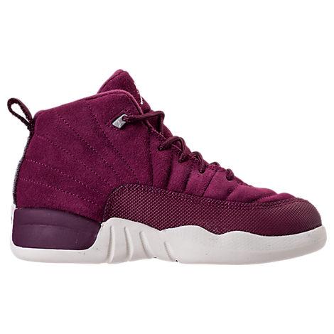 Boys' Preschool Air Jordan Retro 12 Basketball Shoes