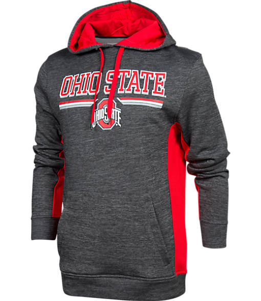 Men's J. America Ohio State Buckeyes College All Season Poly Hoodie