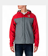 Men's J. America Ohio State Buckeyes College Full-Zip Windbreaker