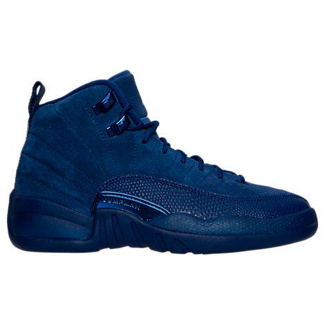Boys' Grade School Air Jordan Retro 12 Basketball Shoes