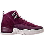 Boys' Grade School Air Jordan Retro 12 Basketball Shoes