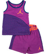 Girls' Infant Nike Chevron Shorts Set