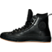 Left view of Men's Converse Chuck Taylor All-Star II Counter Climate Casual Shoes in Black/Black/Gum