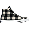 color variant White Plaid/Black