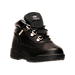 Three Quarter view of Kids' Toddler Timberland Field Boots in Black
