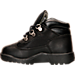 Left view of Kids' Toddler Timberland Field Boots in Black
