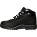 Left view of Kids' Grade School Timberland Field Boots in Black