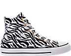 Women's Converse Chuck Taylor High Top Animal Print Casual Shoes