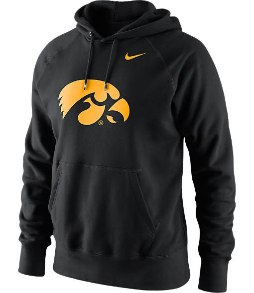 Men's Nike Iowa Hawkeyes College Classic Logo Hoodie