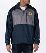 Men's Columbia Notre Dame Fighting Irish College Flash Forward Windbreaker Jacket