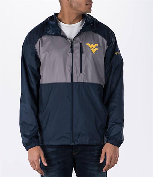Men's Columbia West Virginia Mountaineers College Flash Forward Windbreaker Jacket