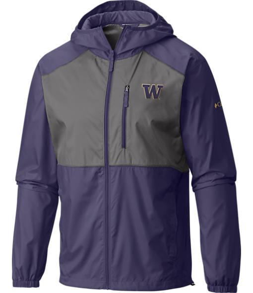 Men's Columbia Washington Huskies College Flash Forward Windbreaker Jacket