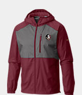 Men's Columbia Florida State Seminoles College Flash Forward Windbreaker Jacket