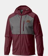 Men's Columbia Minnesota Golden Gophers College Flash Forward Windbreaker Jacket