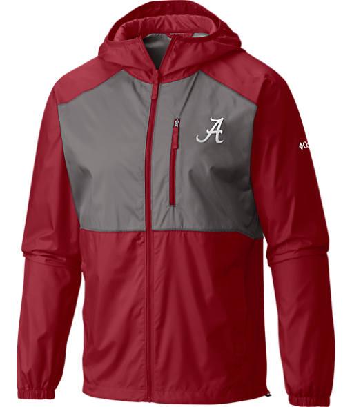 Men's Columbia Alabama Crimson Tide College Flash Forward Windbreaker Jacket