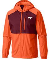 Men's Columbia Virginia Tech Hokies College Flash Forward Windbreaker Jacket