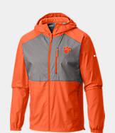 Men's Columbia Clemson Tigers College Flash Forward Windbreaker Jacket
