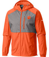 Men's Columbia Clemson Tigers College Flash Forward Windbreaker Jacket