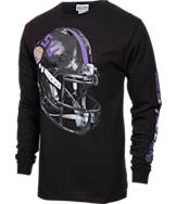 Men's Majestic LSU Tigers College Reflective Long-Sleeve T-Shirt