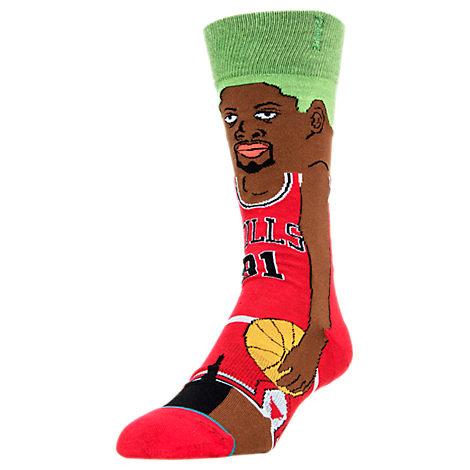Stance Chicago Bulls Dennis Rodman NBA Cartoon Socks