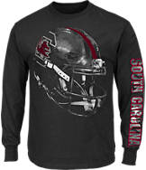 Men's Majestic South Carolina Gamecocks College Reflective Long-Sleeve T-Shirt