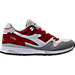 Right view of Unisex Diadora V7000 NYL II Casual Shoes in White/Red/Grey