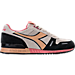 Right view of Unisex Diadora Titan Premium Casual Shoes in Peach/Pink/Black