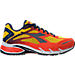 Right view of Men's Diadora M.Shindano Plus 2 Running Shoes in Orange/Gold/Navy/White