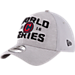 Back view of New Era Cleveland Indians MLB 2016 League Championship Hat in Grey