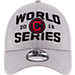 Alternate view of New Era Cleveland Indians MLB 2016 League Championship Hat in Grey