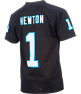 Kids' Nike Carolina Panthers NFL Cam Newton Jersey T-Shirt