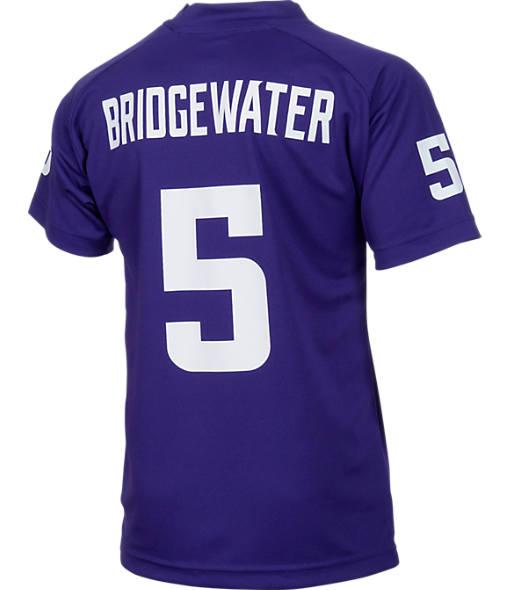Kids' Nike Minnesota Vikings NFL Teddy Bridgewater Jersey T-Shirt