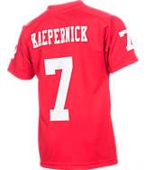 Kids' Nike San Francisco 49ers NFL Colin Kaepernick Jersey T-Shirt