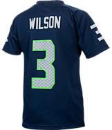 Kids' Nike Seattle Seahawks NFL Russell Wilson Jersey T-Shirt