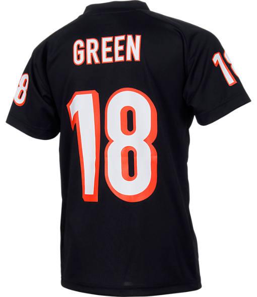 Kids' Nike Cincinnati Bengals NFL A.J. Green Jersey T-Shirt