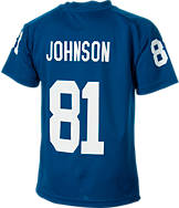 Kids' Nike Indianapolis Colts NFL Andre Johnson V-Neck T-Shirt