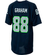 Kids' Nike Seattle Seahawks NFL Jimmy Graham V-Neck T-Shirt