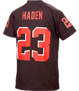 Kids' Nike Cleveland Browns NFL Joe Haden V-Neck Jersey T-Shirt