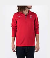 Men's Nike Ball State Cardinals College Dri-FIT Quarter-Zip Training Shirt