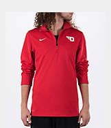 Men's Nike Dayton Flyers College Dri-FIT Quarter-Zip Training Shirt