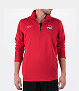 Men's Nike Houston Cougars College Dri-FIT Quarter-Zip Training Shirt