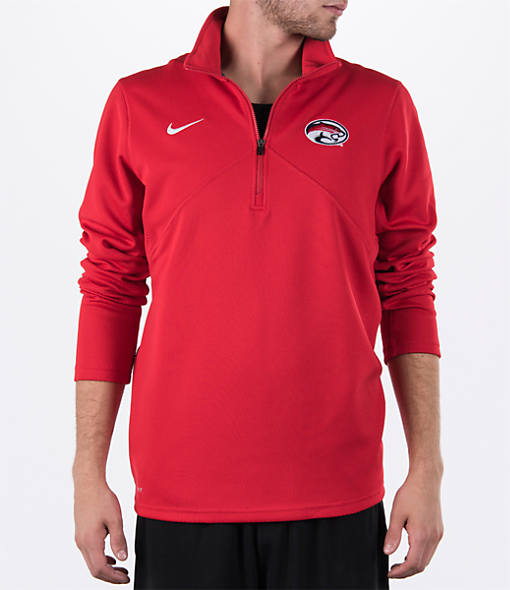 Men's Nike Houston Cougars College Dri-FIT Quarter-Zip Training Shirt