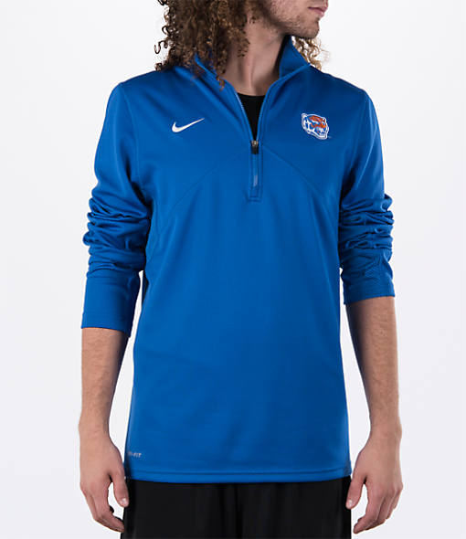 Men's Nike Memphis Tigers College Dri-FIT Quarter-Zip Training Shirt