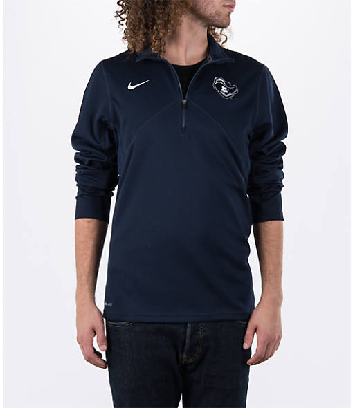 Men's Nike Xavier Musketeers College Dri-FIT Quarter-Zip Training Shirt