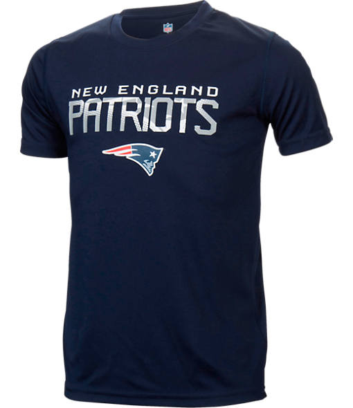 Kids' New England Patriots NFL Involution Performance T-Shirt